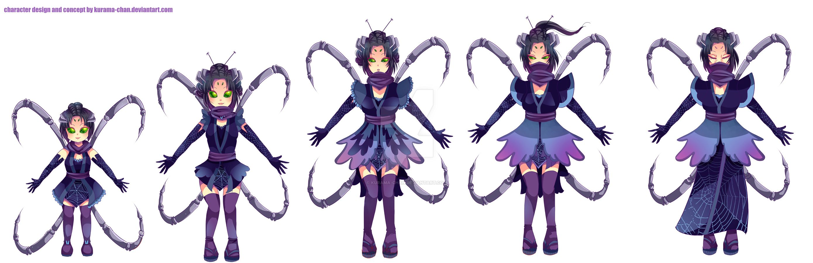 Anime Character Design Tropes : Jorogumo anime pixshark images galleries with