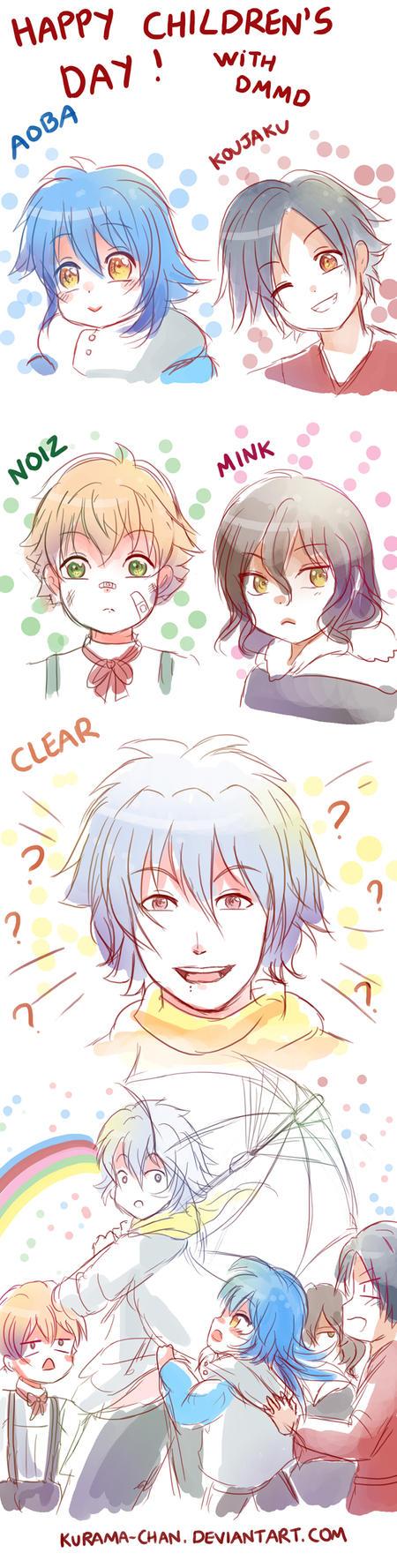 -- DMMD : Happy Children's Day -- by Kurama-chan