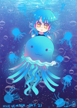-- Huevember Day 21: Jellyfish --
