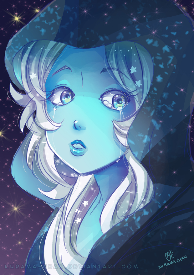 -- Steven Universe: Blue Diamond -- by Kurama-chan
