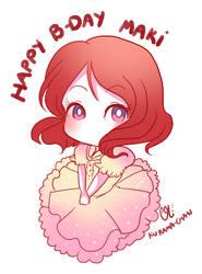 -- Happy Birthday Maki 2017 --