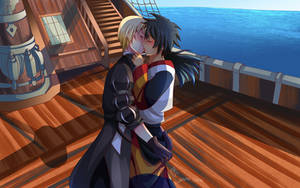 -- Tales of Berseria Yaoi Commission -- by Kurama-chan
