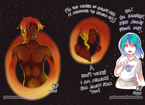 -- Earth-chan and the Monster Blackhole --