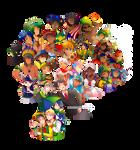 -- Estados Brasileiros: Characters introduction -- by Kurama-chan