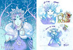 -- Human Four Stations: Winter -- by Kurama-chan