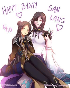 Happy Birthday San Lang