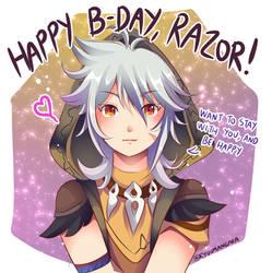 Happy Birthday Razor!