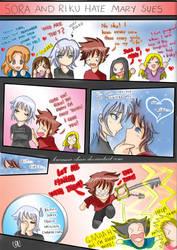 - Sora x Riku hate Mary Sues - by Kurama-chan