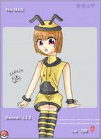 -- Gijinka Collab: Beedrill -- by Kurama-chan