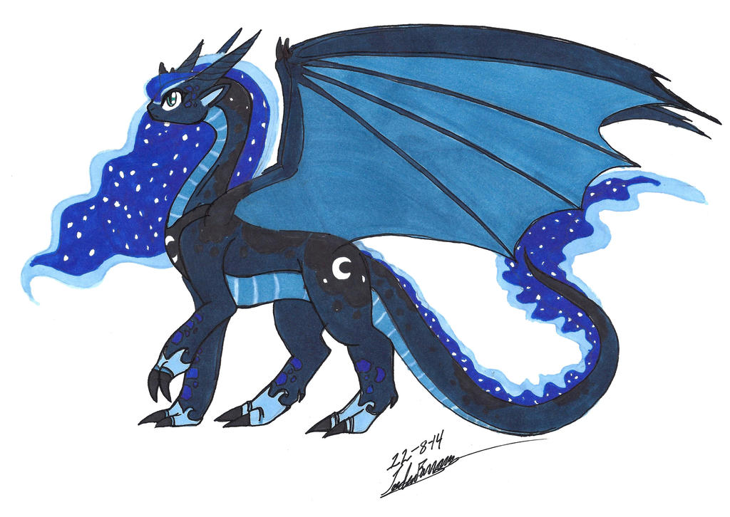 Requested Dragon Luna By Clinclang On Deviantart