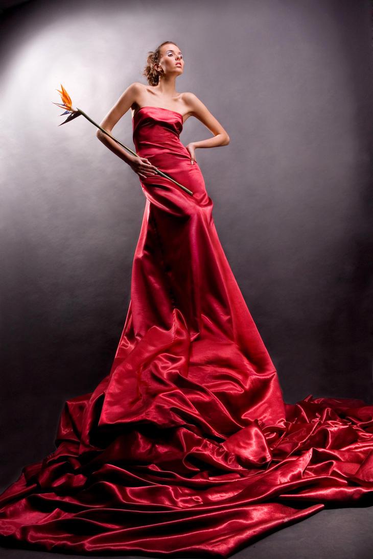 Фото девушки в длинных платьях
