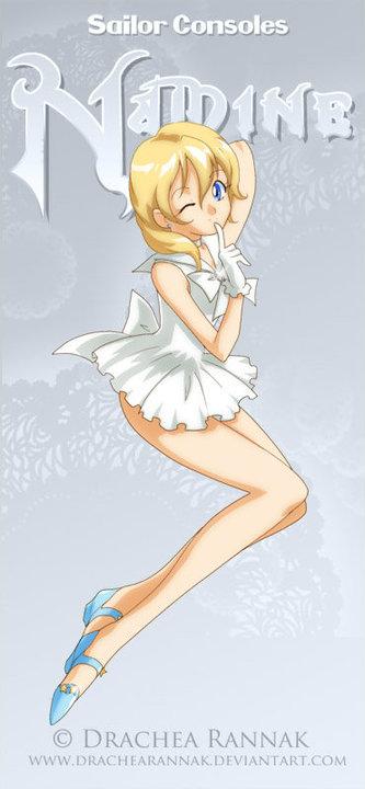 Kingdom Hearts Namine And Kairi Anime sailor namine b...