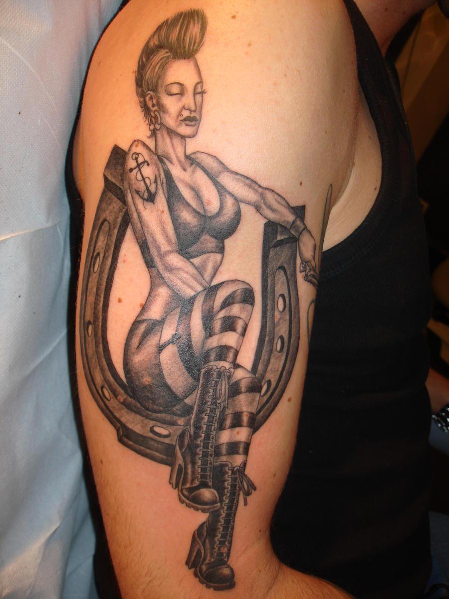 PIN UP TATTOO by TattooZagreb