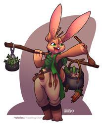 Valerian Character Design