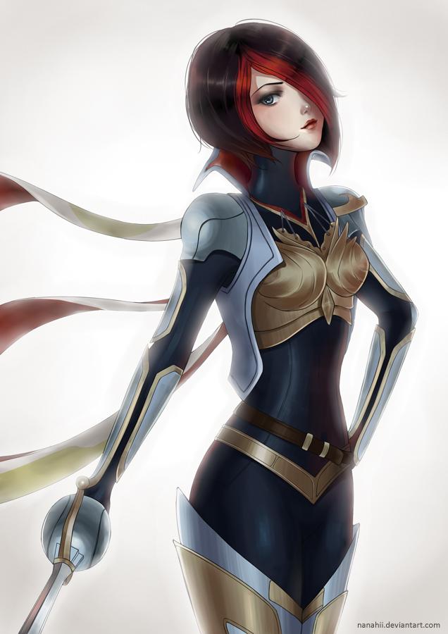 League of Legends: Fiora by Nanahii on DeviantArt