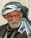old man by Pithana