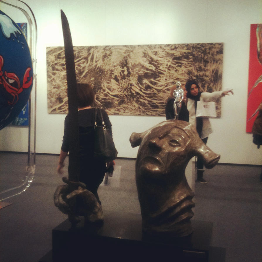 contemporary art fair 1 by Pithana