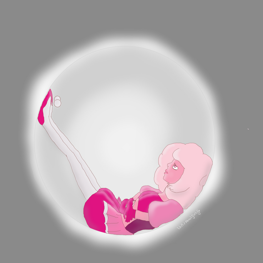 I've been gone from here awhile in an attempt to improve my art and I've slowly been getting better. Anyway I hope you enjoy this picture of Pink Diamond in one of White Diamond's bubbles. I do not...