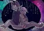 i saw stars on the pavement