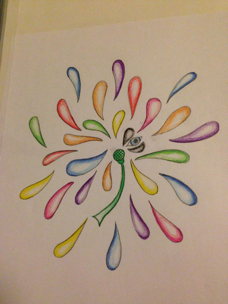 Abstract Flower Drawing Png 774x1032 Flower Abstract Drawings