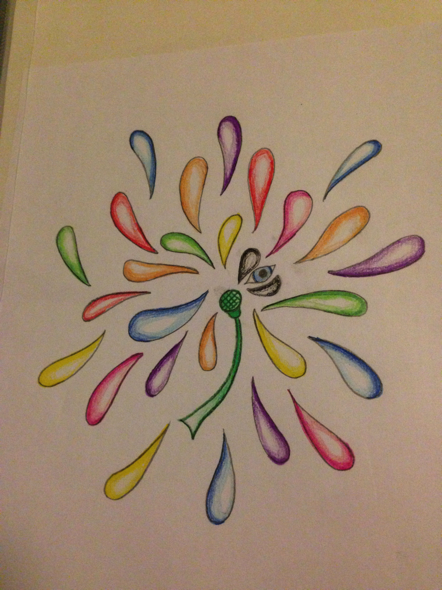 Abstract Flower Drawing By Sadsnail On Deviantart