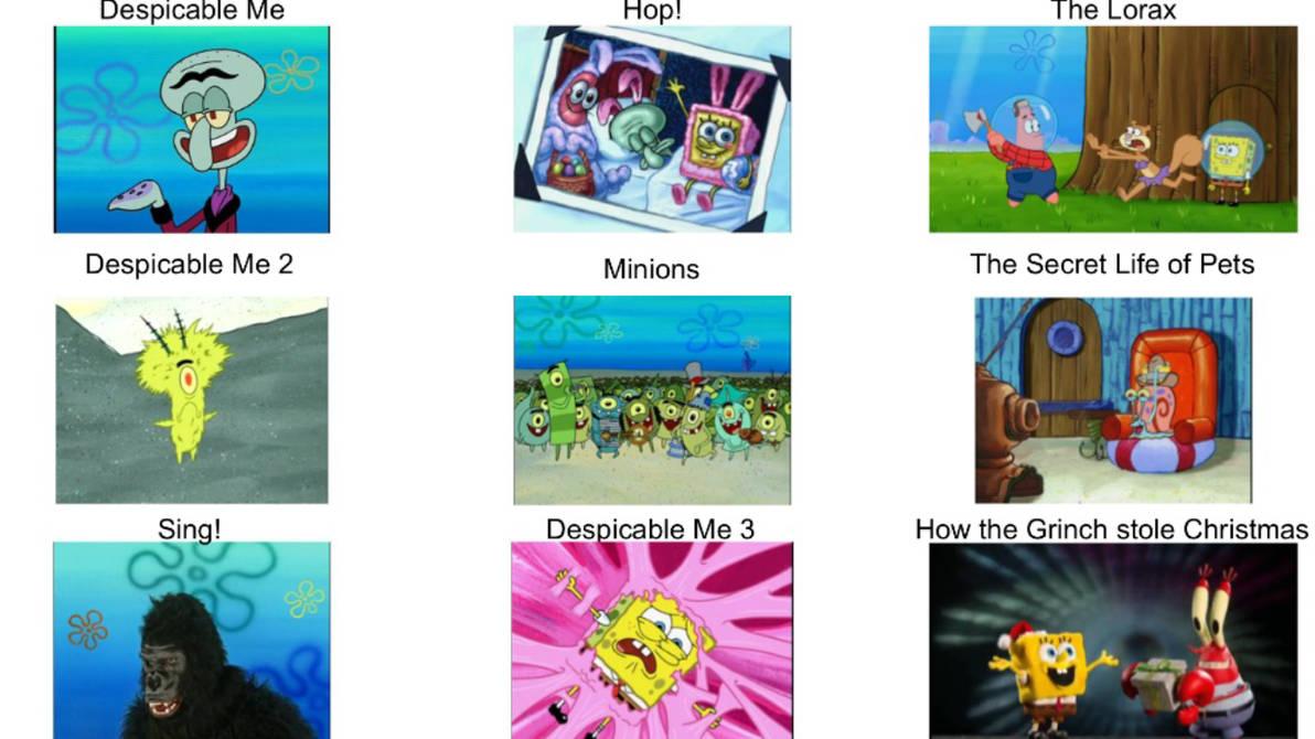 Spongebob Illumination Comparison Chart By Meta527ii