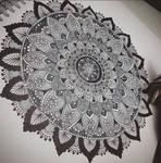 Gray Mandala