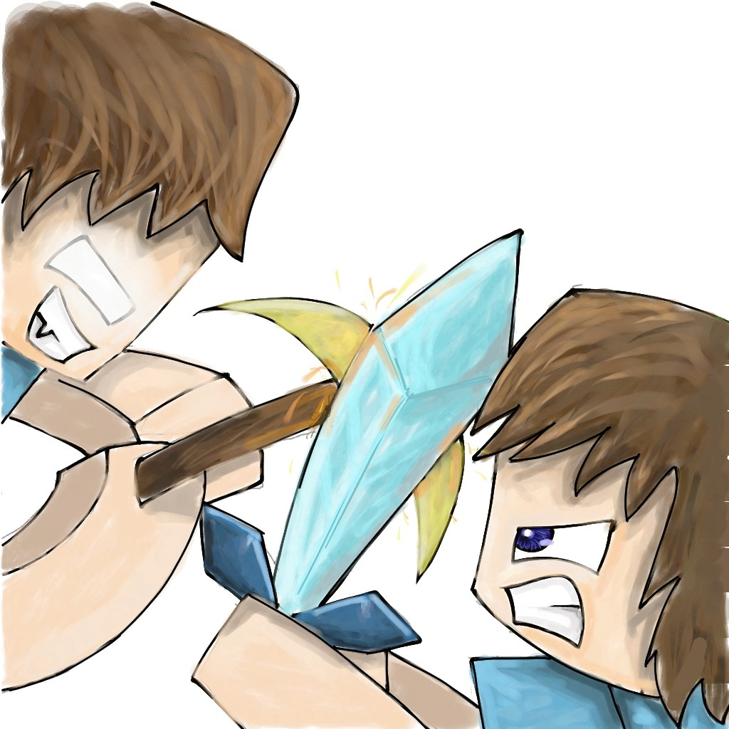 Baby Steve vs. Baby Alex - Minecraft - YouTube