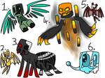 Minecraft creature adoptables 2 (closed)