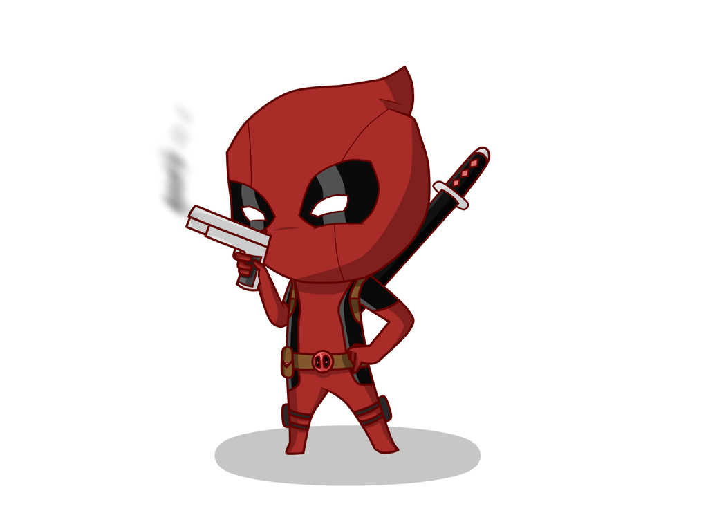 Chibi Deadpool by Game...