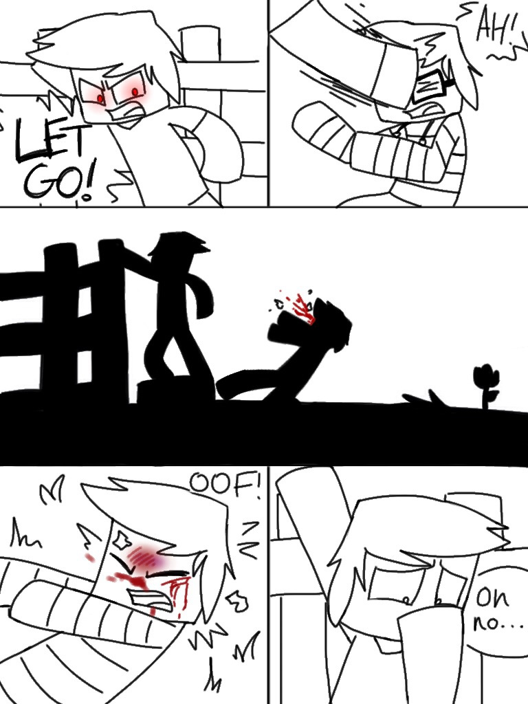 Herobrine page 8 by Gameaddict1234