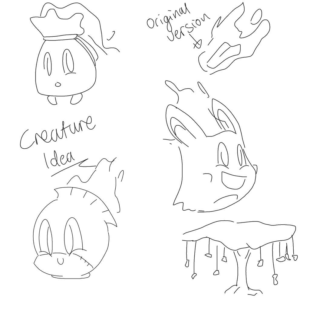 Creature idea by Gameaddict1234