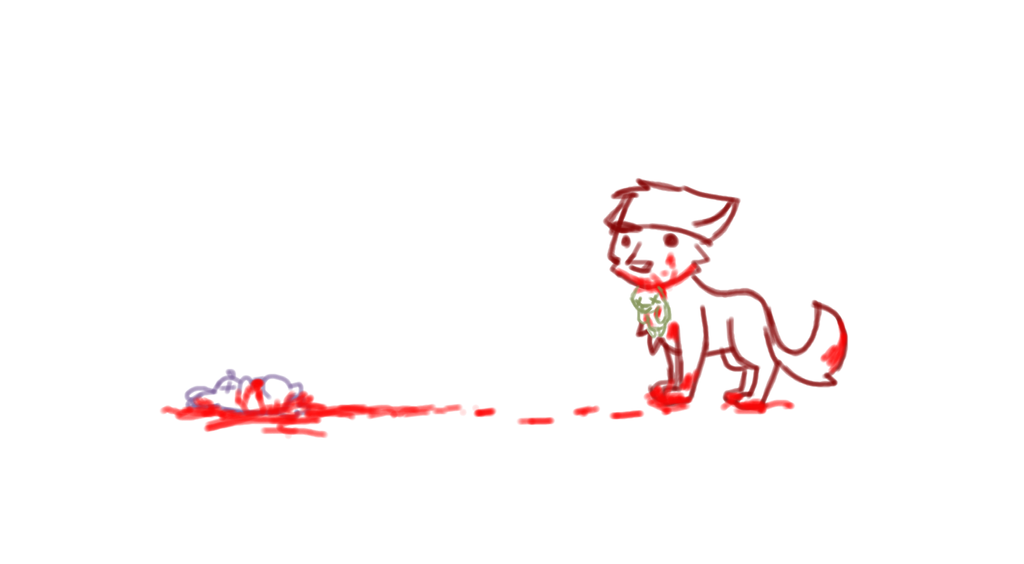 Foxes are evil by Gameaddict1234