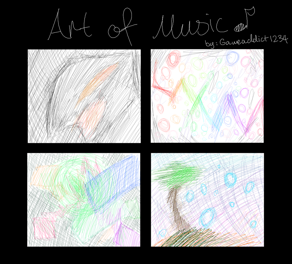 Art of music file 1 by Gameaddict1234