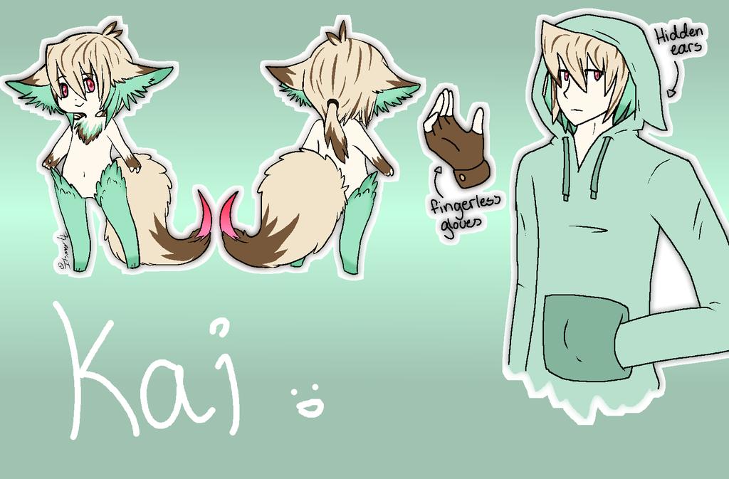 New clawtail OC- Kai by Gameaddict1234