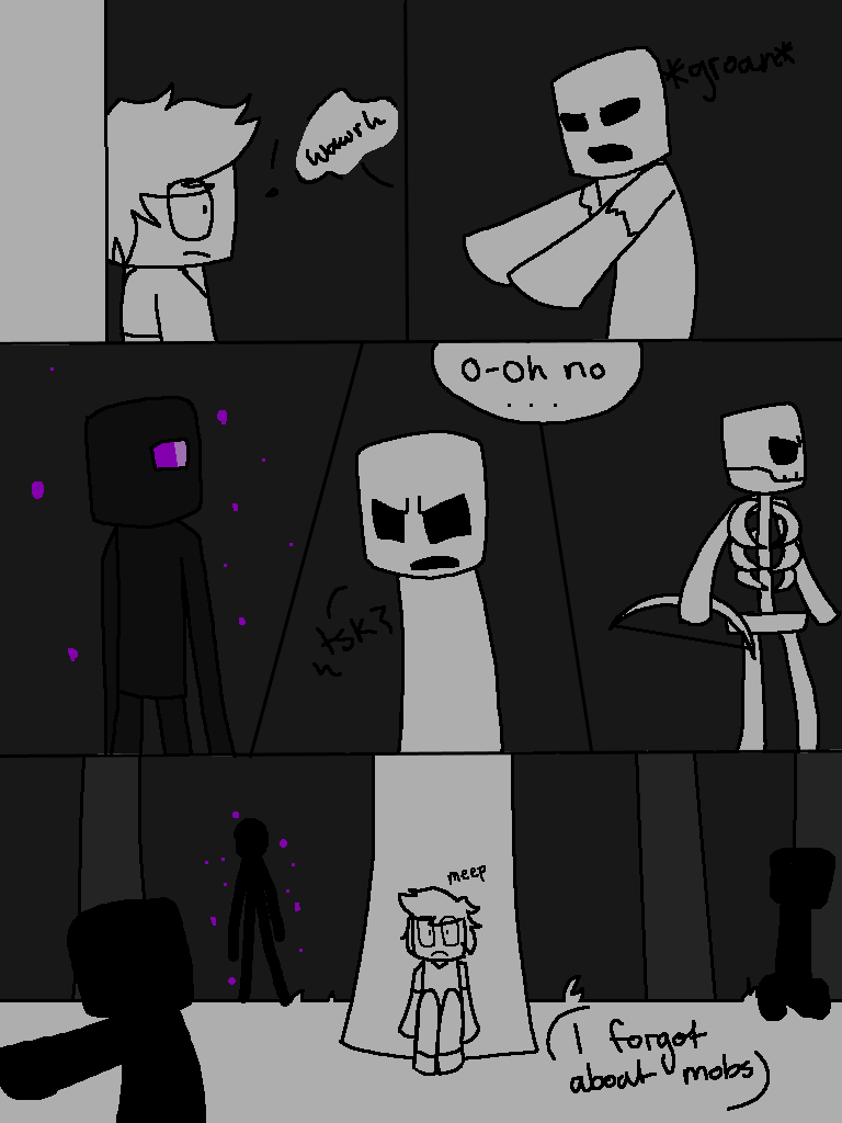 Herobrine page 12 by Gameaddict1234