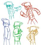 Herobrine sketches