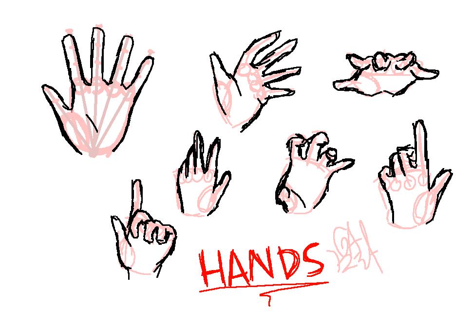 Hand practice by Gameaddict1234