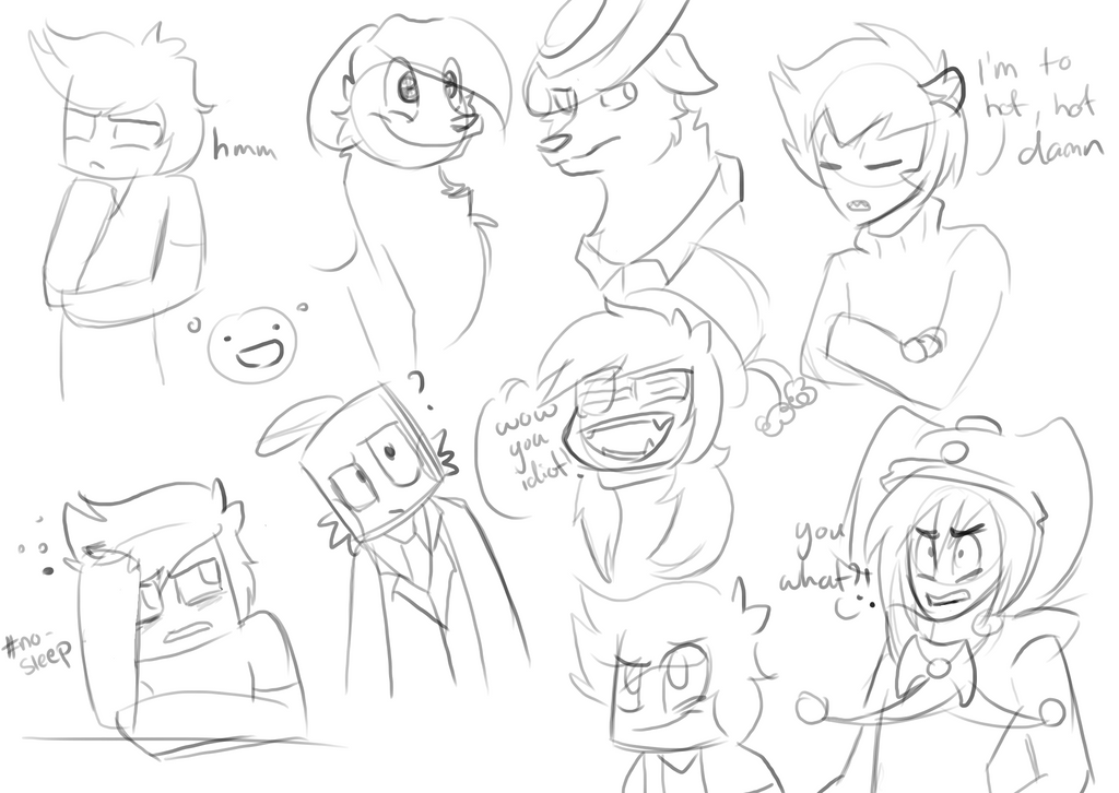 Expression practice by Gameaddict1234