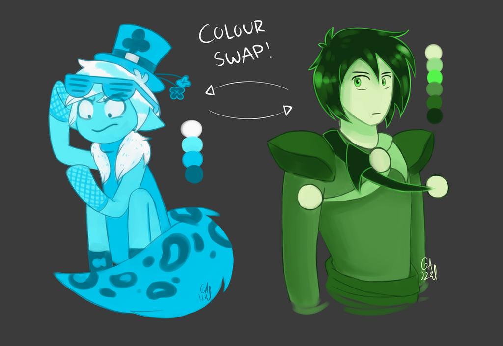 Colour swap challenge by Gameaddict1234