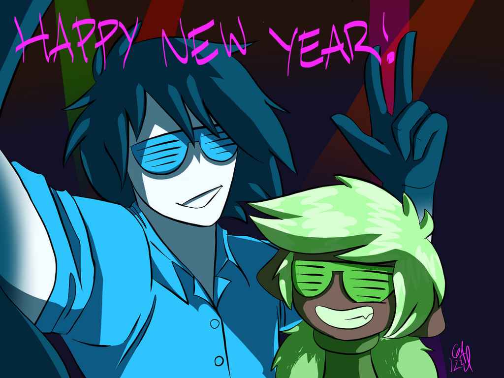 Happy New Year by Gameaddict1234