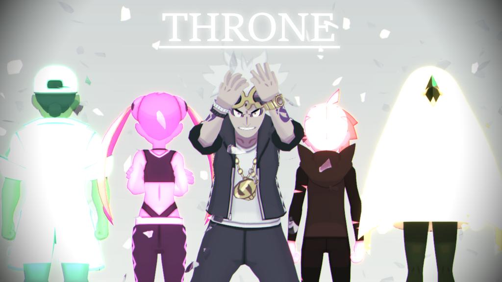 [MMD] Pokemon- Throne (Link in description) by Gameaddict1234