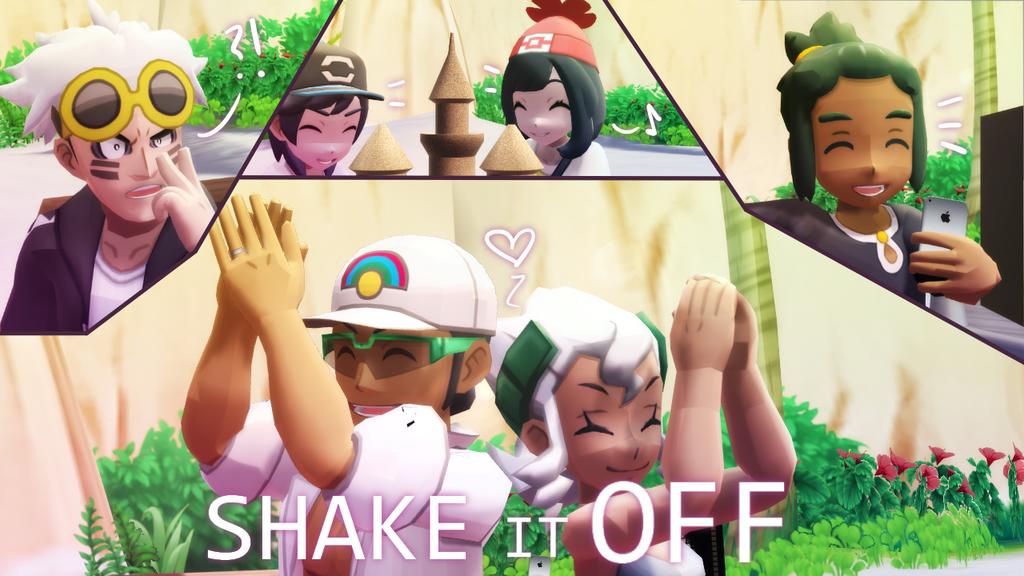 [MMD] Pokemon- Shake it off (link in desc.) by Gameaddict1234