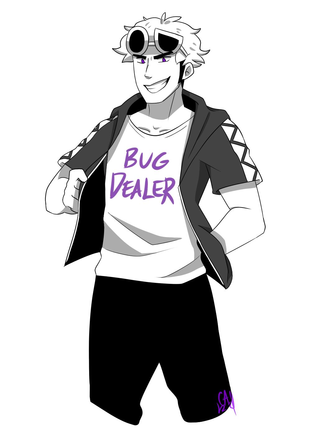 Bug dealer by Gameaddict1234