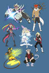 Pokemon- Fusion AU? (Pokeburst AU)
