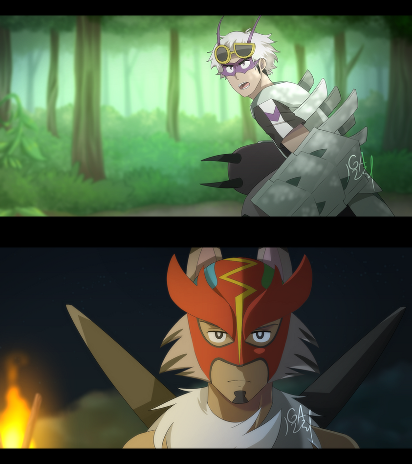 Pokemon- Pokeburst AU (Screenshots Set 1) by Gameaddict1234