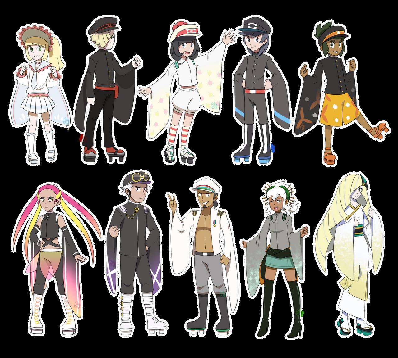[MMD] Pokemon- Senbonzakura model concepts UPDATE by Gameaddict1234
