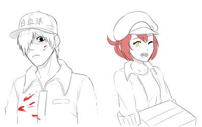 Cells at Work by Gameaddict1234