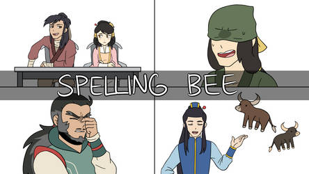 [Animatic] Spelling Bee (VIDEO IN DESC.) by Gameaddict1234