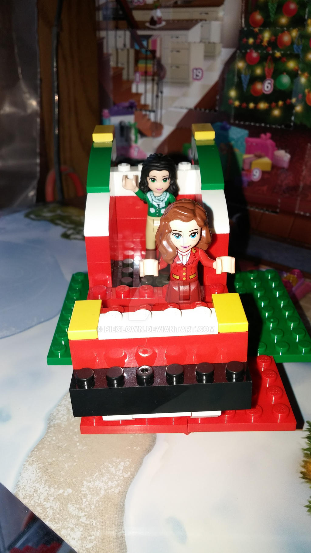 Lego Sleigh by pieclown
